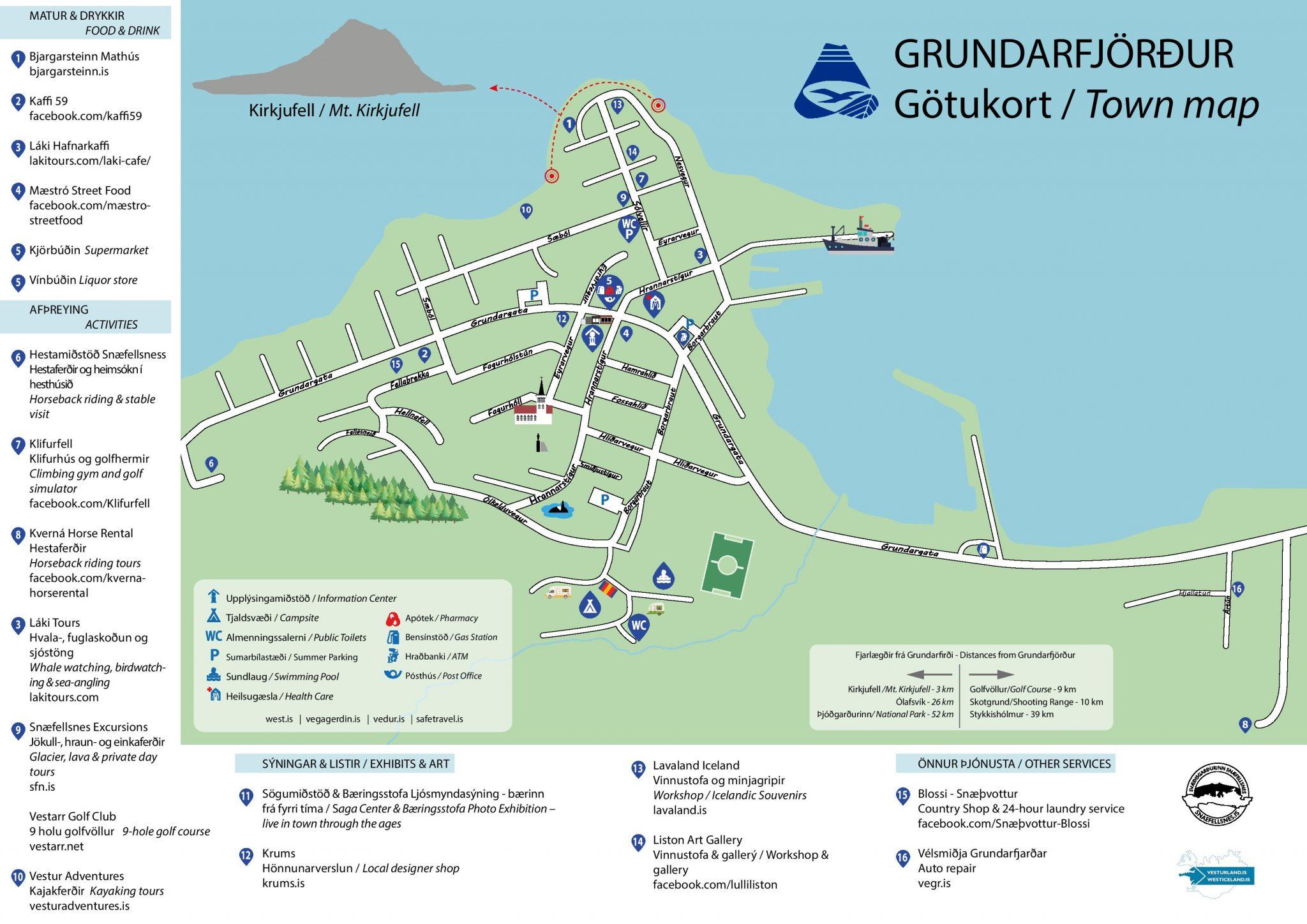 grundarfjordur street map