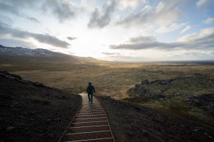 Snæfellsnes Peninsula Iceland Saxhóll Crater