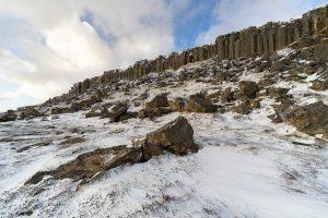 Snaefellsnes Iceland Self-Drive - Gerduberg Basalt Columns