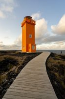 Svörtuloft Lighthouse Snaefellsnes Peninsula Iceland
