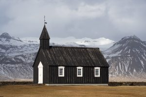 Things to do in Snaefellsnes Iceland Budir Church West Iceland