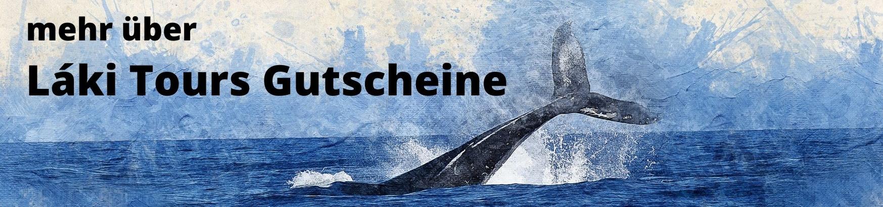 Island Whale Watching Gutschein