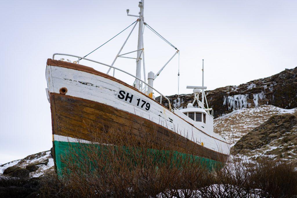 Snæfellsnes Ólafsvík Boat
