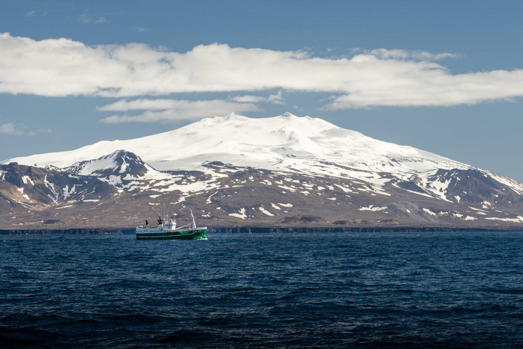 Snæfellsnes Ólafsvík Snæfellsjökull