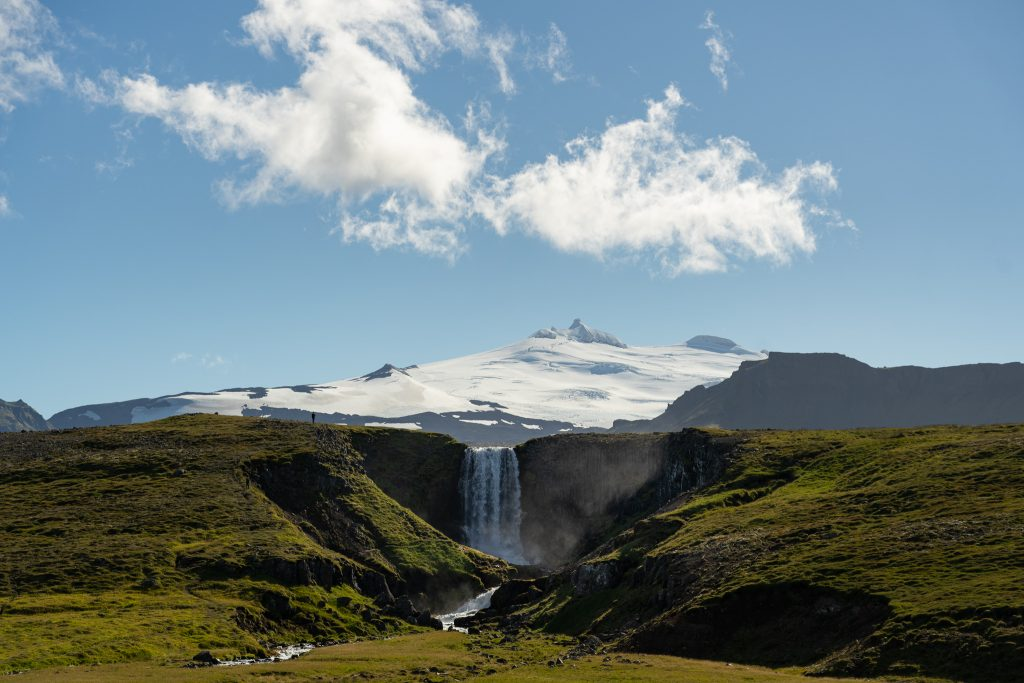 Snæfellsnes Olafsvik Iceland Svöðufoss