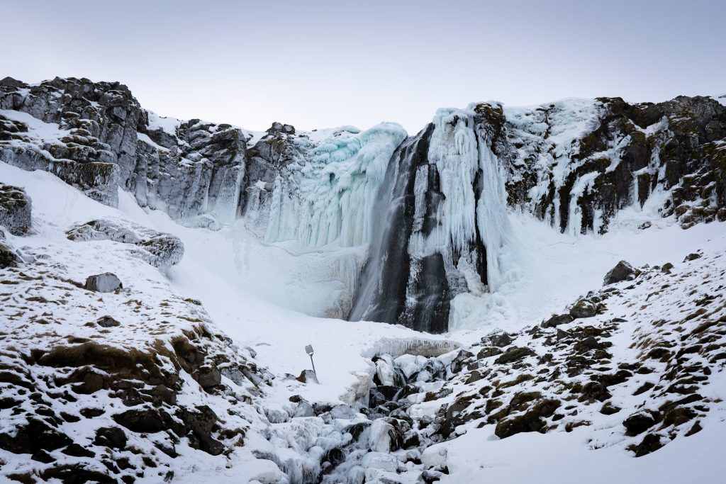 Snæfellsnes Ólafsvík Waterfall